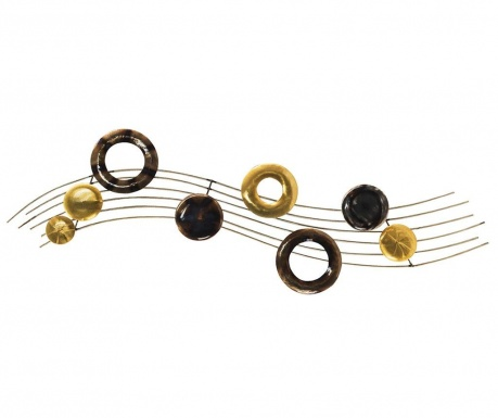 Decoratiune de perete Musical Notes