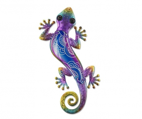Decoratiune de perete Half on Lizard Purple