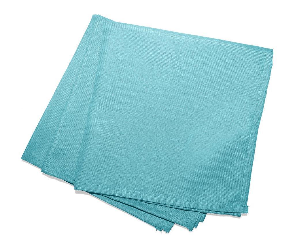 Set 3 stolna ubrusa Essentiel Blue 40x40 cm