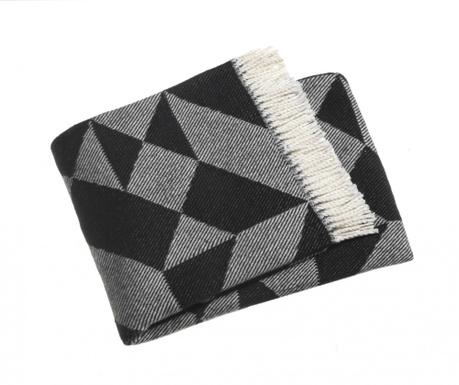 Priročna odeja Milano Black 140x180 cm