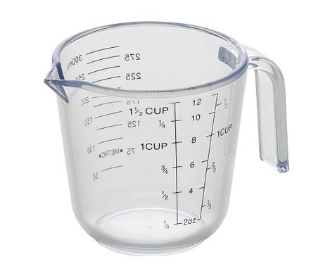 Merilna skodelica Clear 600 ml
