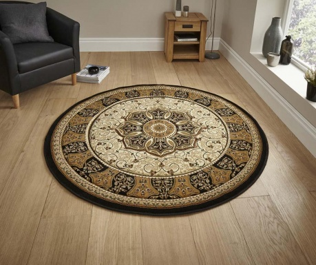 Dywan Heritage Black Circle 150 cm