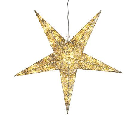 Висяща светеща декорация за екстериор Gold Star