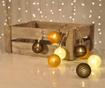 Svetelná girlanda String Lights Brown, White, Bronze