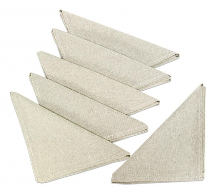 Set of 6 table napkins Monik 42x42 cm
