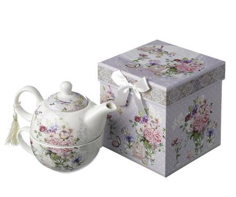 Set ceainic si ceasca Gardenia