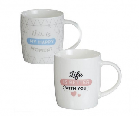 Set 2 cani Happy with You 350 ml