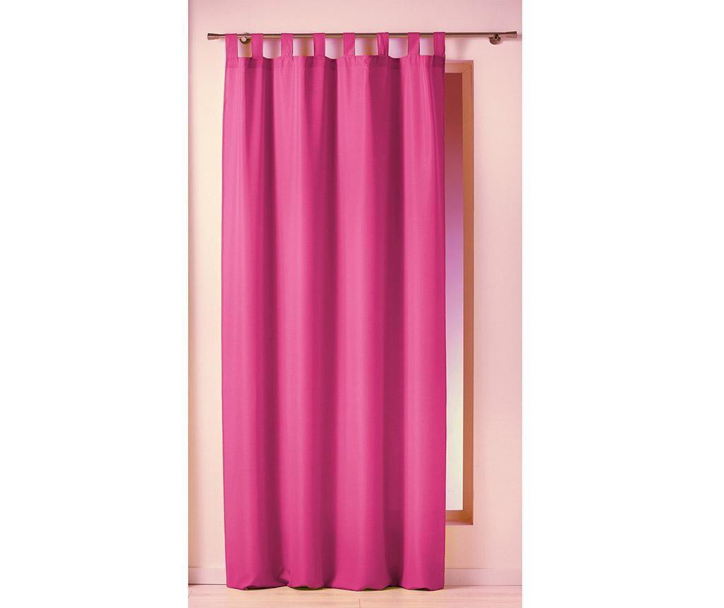 Draperie Essential Loop Pink 140x260 cm