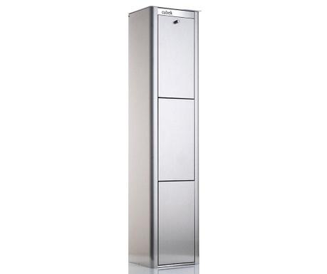 Kanta za smeće za odvojeno prikupljanje Cubek Silver 60 L