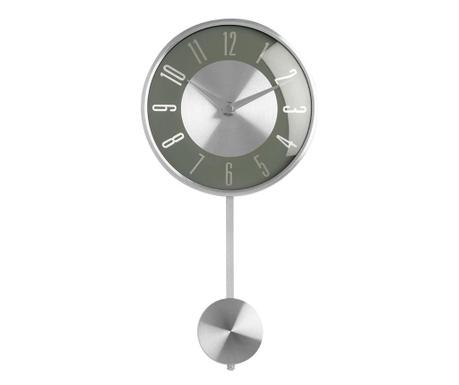 Zegar ścienny z wahadłem Style Gray