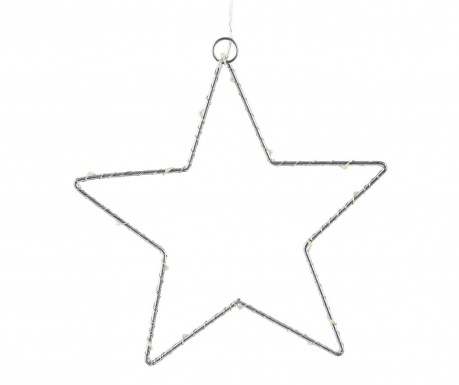 Viseći LED ukras Metallic Star