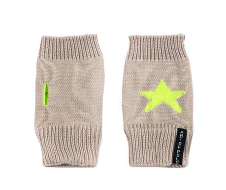 Rękawiczki damskie Arran Cream