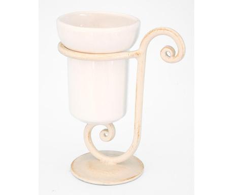 Чаша за баня с поставка Lamar Ivory