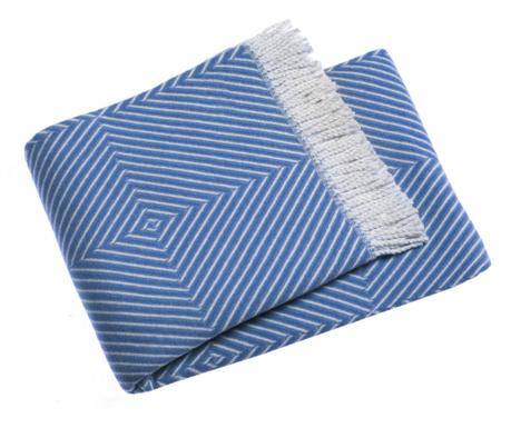 Priročna odeja Tebas Cobalt 140x180 cm