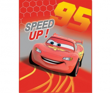 Cars Go Go Go Pléd 110x140 cm