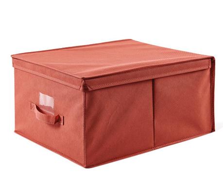 Úložná krabica s vekom Verna Red