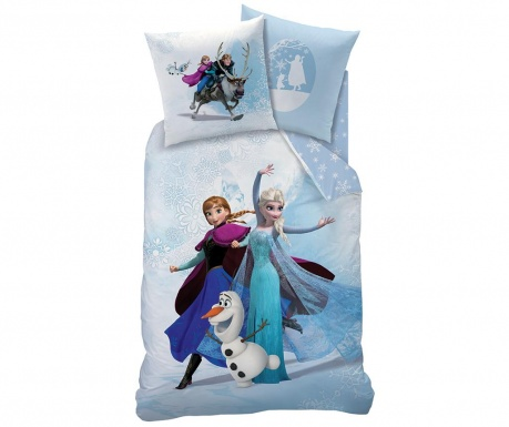 Set de pat Single Ranforce Frozen Enjoy