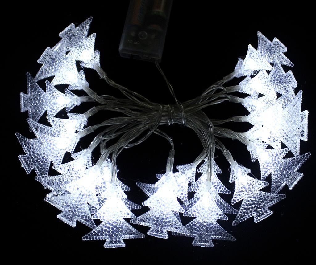Ghirlanda luminoasa Pine Ten White
