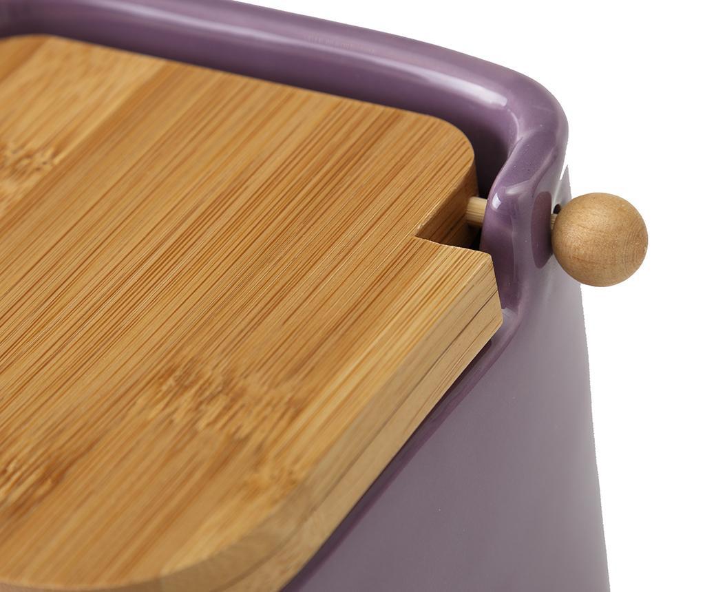 Recipient cu capac Keeper Purple