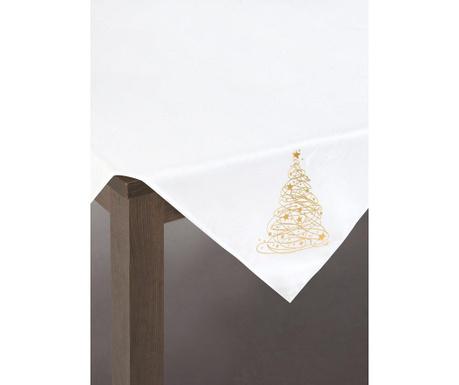 Centralna podkładka stołowa Carol White Gold 85x85 cm