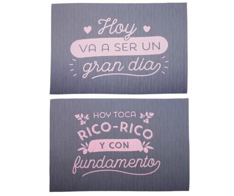 Set 2 individualuri Rico Rico 30x45 cm