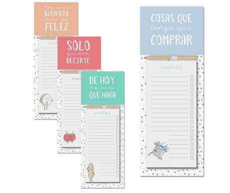 Set 4 carnetele pentru notite Easy Shopping