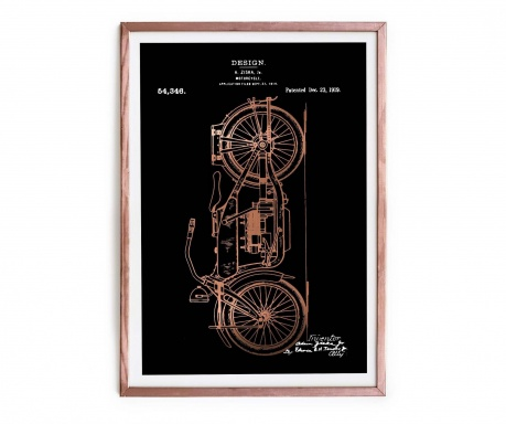 Slika Motorcycle 43x63 cm