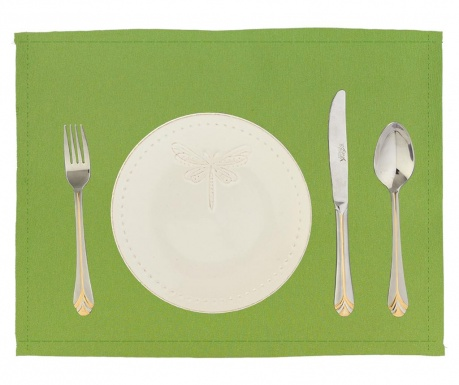 Set 2 individualuri Plane Light Green 33x45 cm