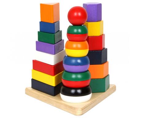 Строителна игра 27 части Pyramid