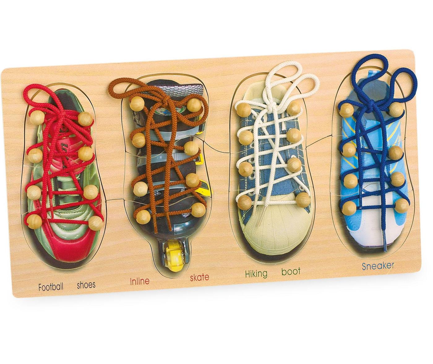 Spretnostina igra Tying Shoes