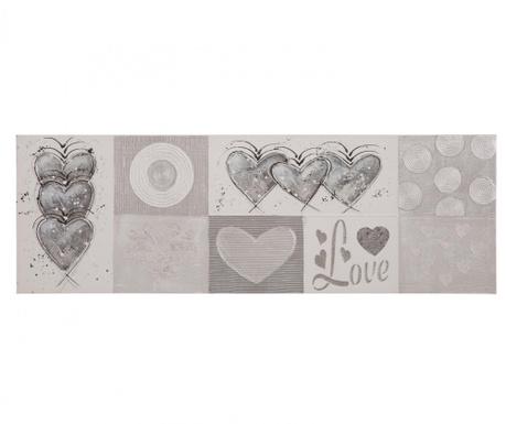 Hearts Festmény 50x150 cm