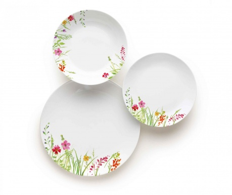 18-dijelni servis za jelo Garden Spring