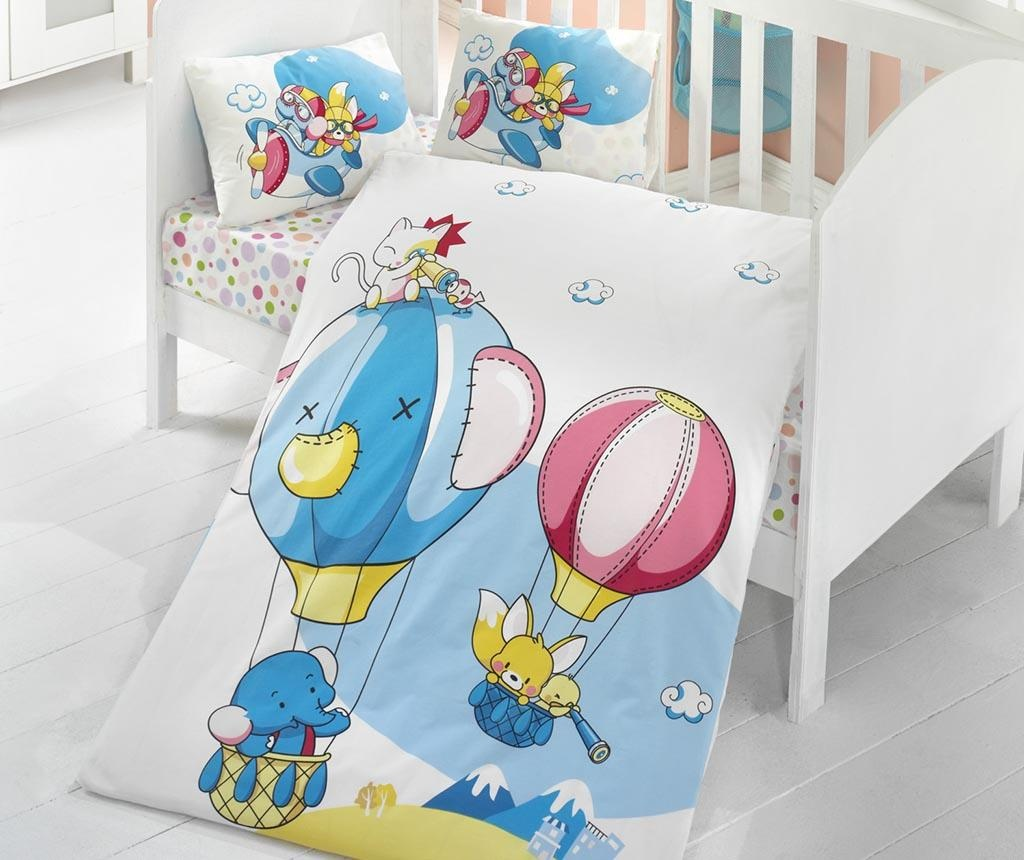 Posteljina za krevetić Ranforce Air Baloon 100x150