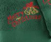 Zestaw 2 ręczników kąpielowych Christmas Bells Green