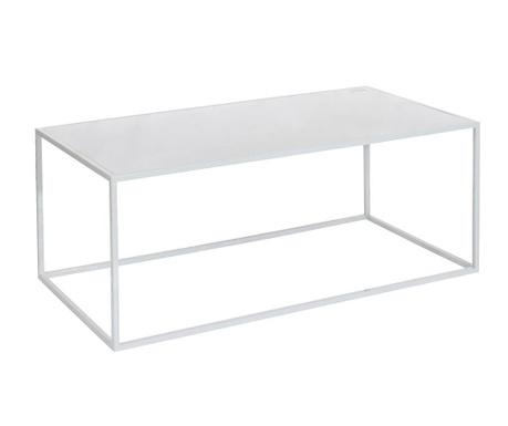 Konferenční stolek Delhi White