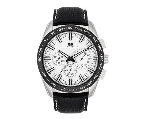 Мъжки ръчен часовник Rhodenwald & Söhne Kitano Black Silver