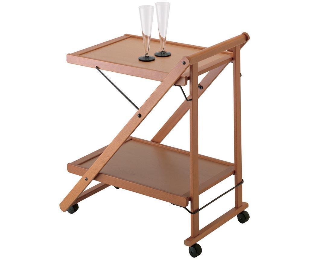 Zložljiv servirni voziček Dario