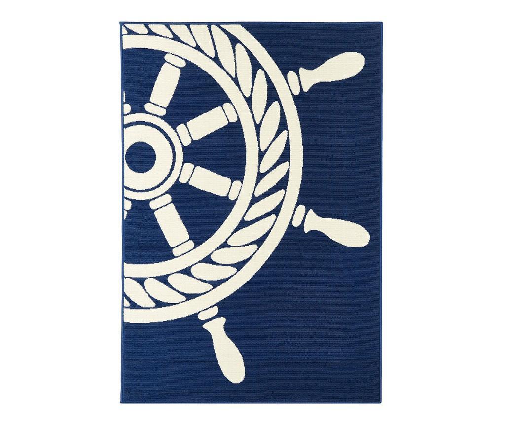 Wheel Navy Szőnyeg 160x230 cm