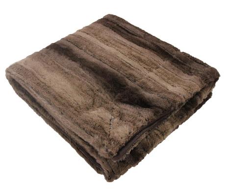 Priročna odeja Noli Brown 125x150 cm