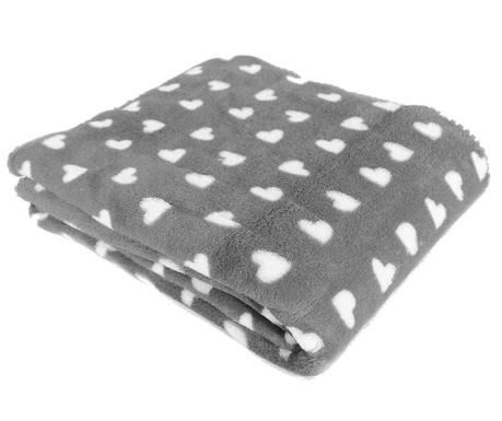 Pokrivač Sweet Lovely Grey 127x152 cm