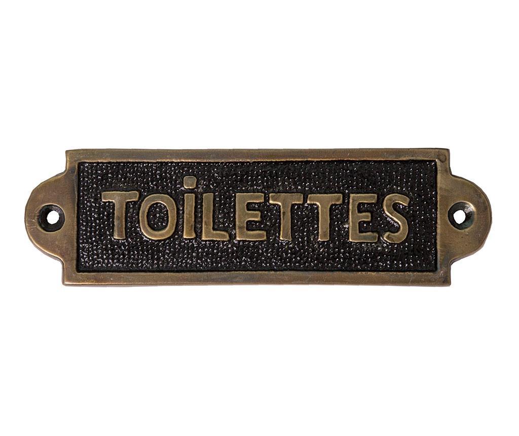 Decoratiune pentru usa Toilettes Plaque