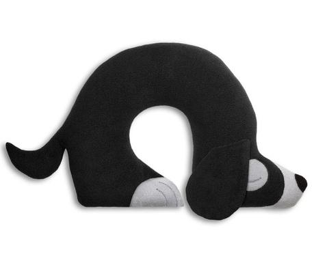 Възглавница за врат Charlie Dog Black 32x40 см