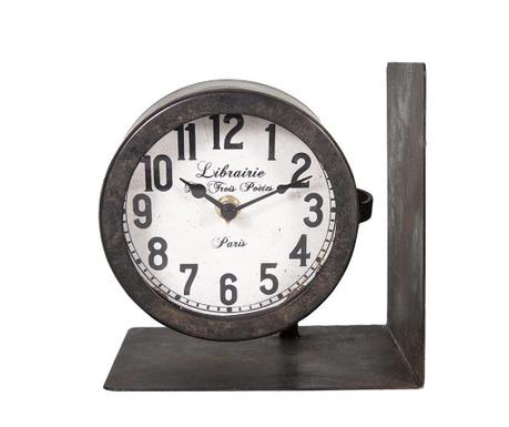 Time Könyvtámasz órával