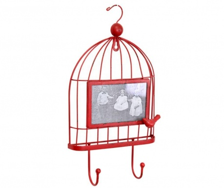 Cuier cu rama foto Cage Red