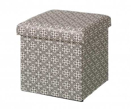 Zložljiv taburet Caprice Grey