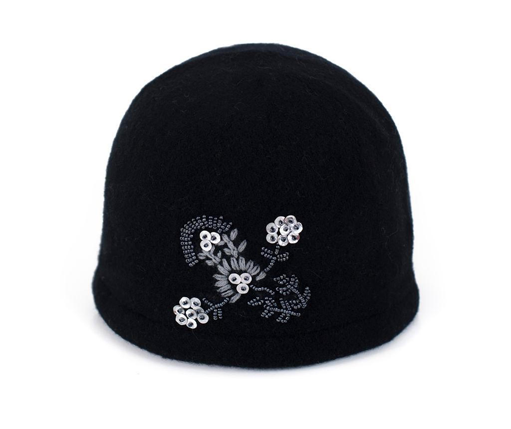 Dámska čiapka Bloom Black 55-58 cm
