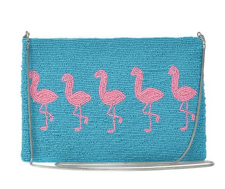 Listová kabelka Pink Flamingo