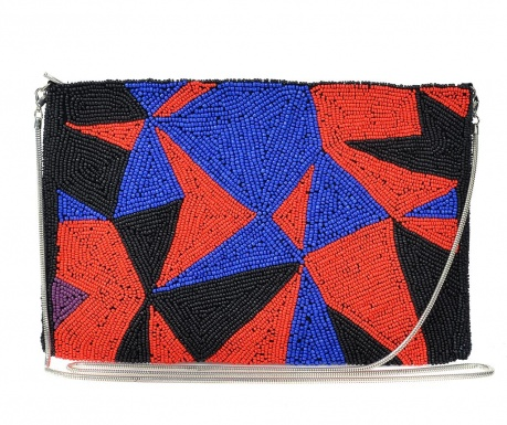 Envelope bag Sonya Red & Blue