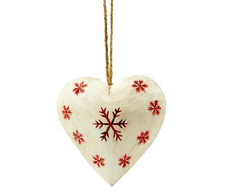 Závěsná dekorace Snowflakes White