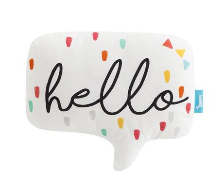 Poduszka dekoracyjna Hello 30x50 cm